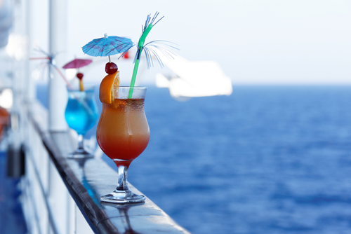 Drinks on Cruise Ship